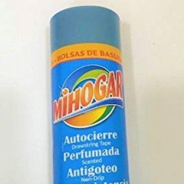 Bolsa basura MIHOGAR 55x60. 30L. 15 und. Azul  ...