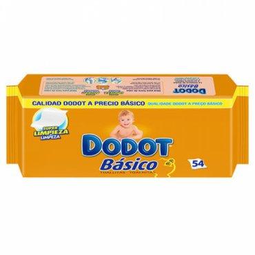 Toallitas DODOT Básico. 54 und.