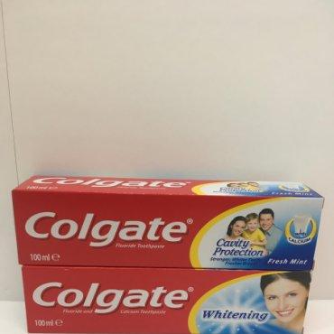 Pasta dental COLGATE BLANQUEANTE  o CALCIO 100ml.