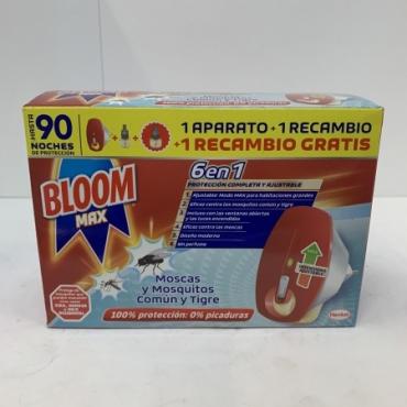 Insecticida BLOOM Electrico aparato + 2 rec.