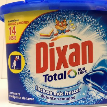 Detergent DIXAN Duo-Caps 14 dose