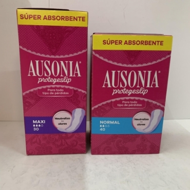 Protege-slip AUSONIA Normal 40 und. y Maxi 30  ...