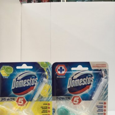 Ambientador WC  DOMESTOS Bleach y Lime