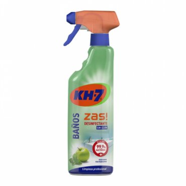 Limpiador baños KH-7. Pistola 750 ml.